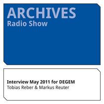 Markus Reuter Interview May 2011 for DEGEM (in German) cover art