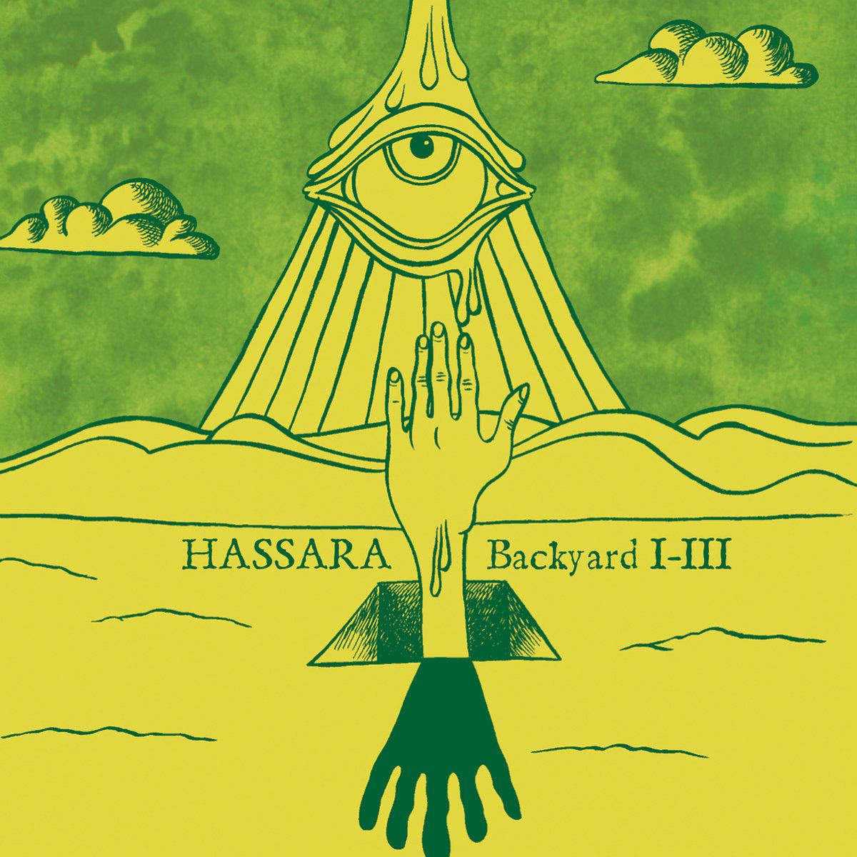 backyard i iii three lobed recordings