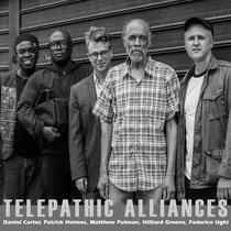 Words Glow from upcoming album Telepathic Alliances cover art