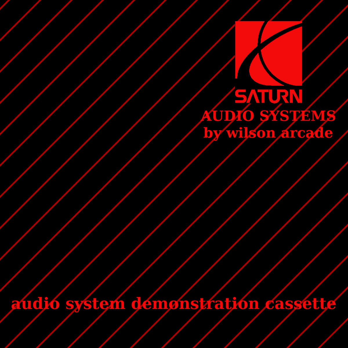 saturn audio system demonstration cassette 茨ヱめ畝ヹ cover