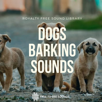 Dog Barking Sound Effects Library cover art