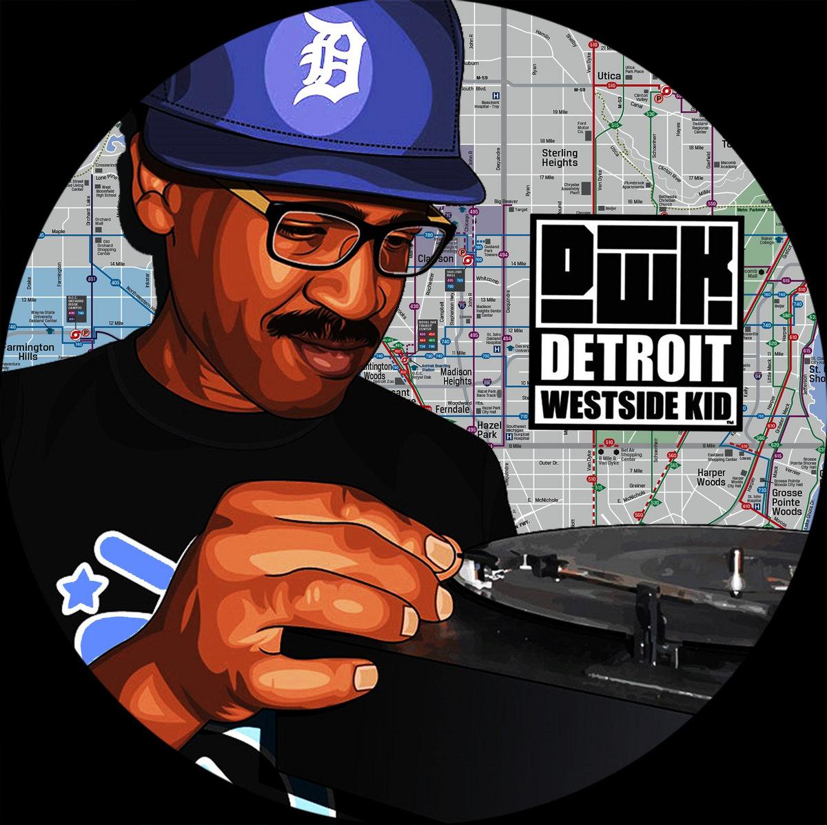 Detroit Westside Kid (Reggie Dokes) - Detroit Westside Kid EP (Detroit Westside Kid Records)
