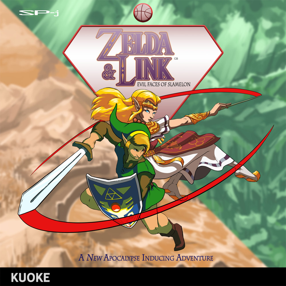 zelda link evil faces of slamelon kuoke