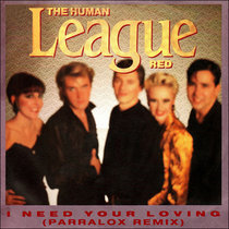 The Human League - I Need Your Loving (Parralox Remix) cover art