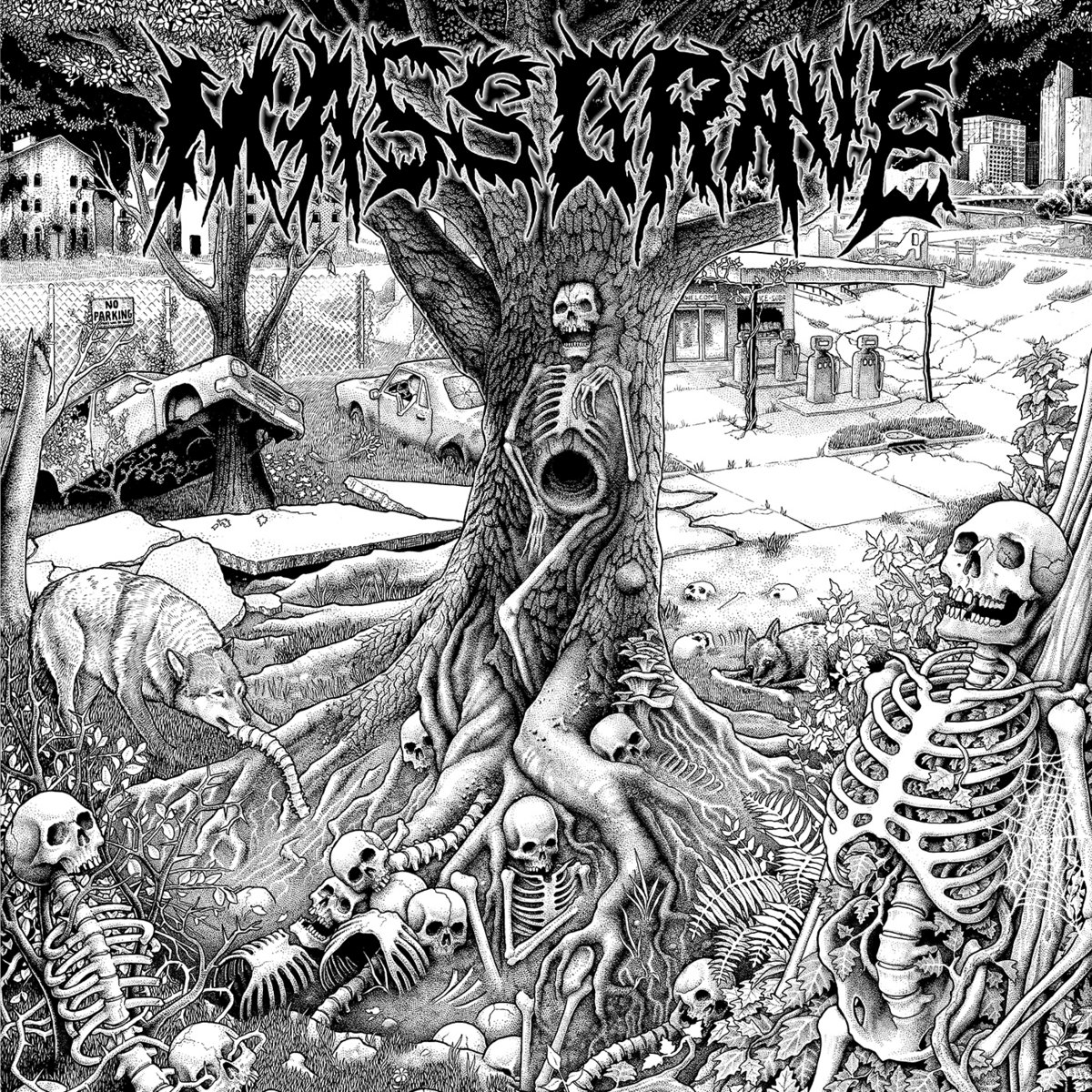 Mass Grave - Our Due Descent [EP] (2018)