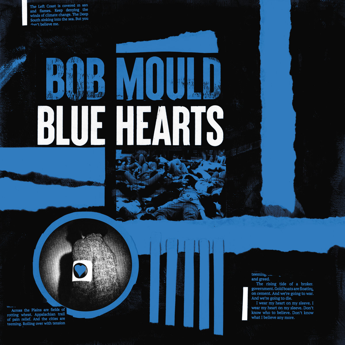 Cover of Bob Mould - Blue Hearts