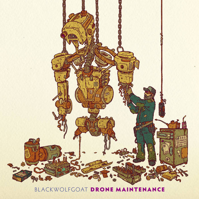 Drone Maintenance cover art