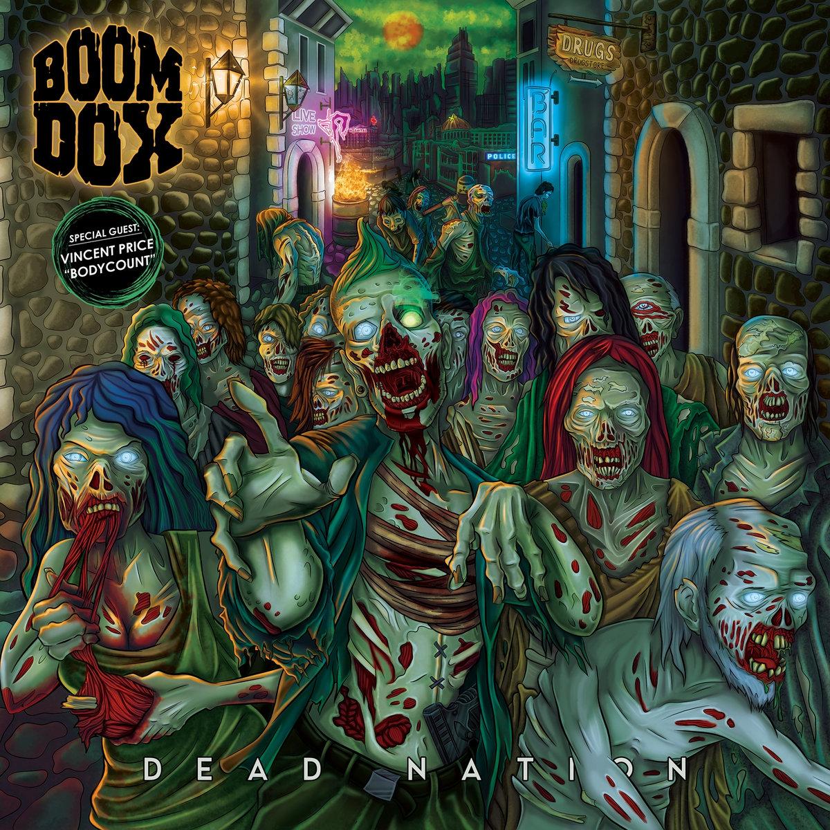 Dead Nation   Boom Dox   RockWorld24