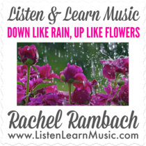 Down Like Rain, Up Like Flowers cover art