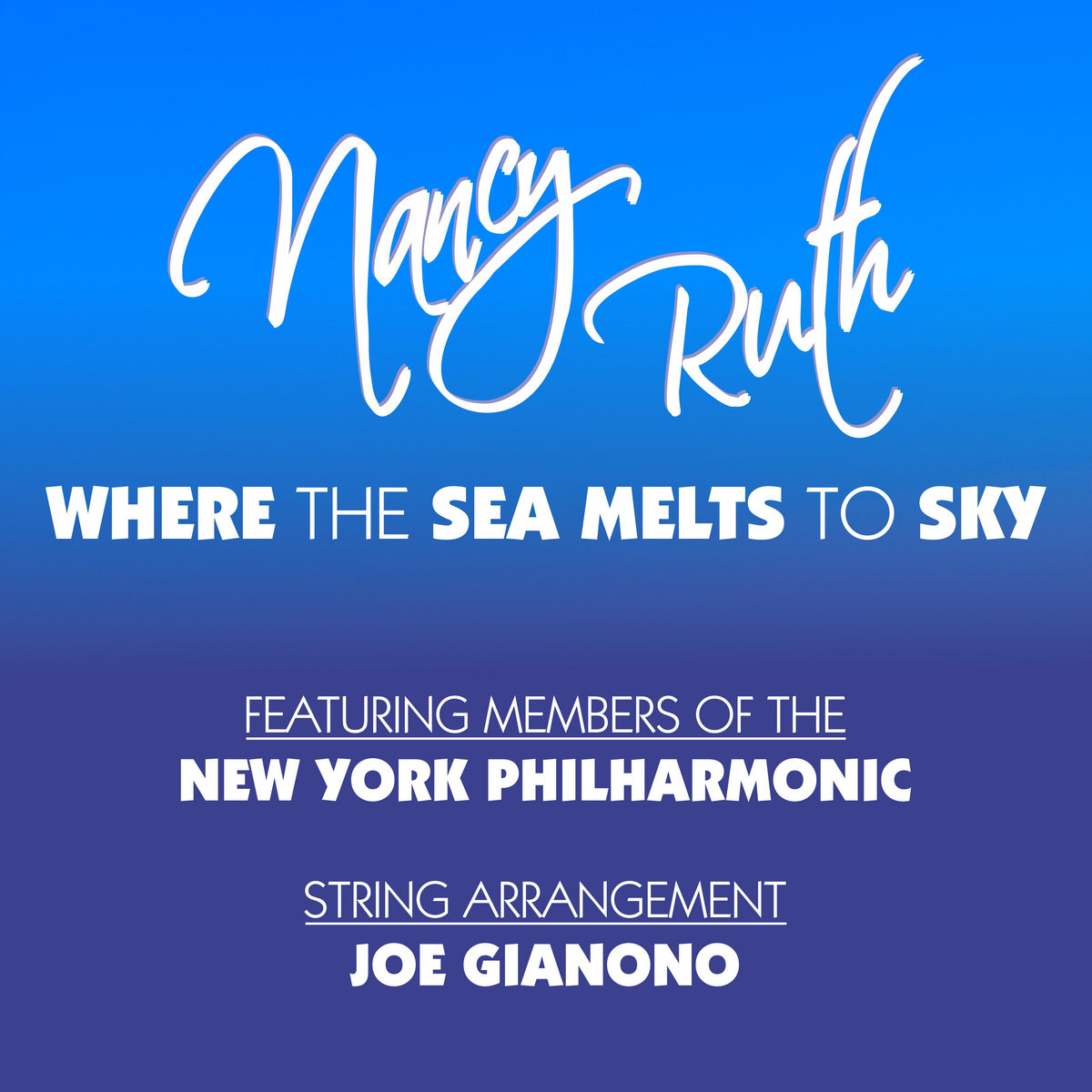 Where the Sea Melts To Sky by Nancy Ruth