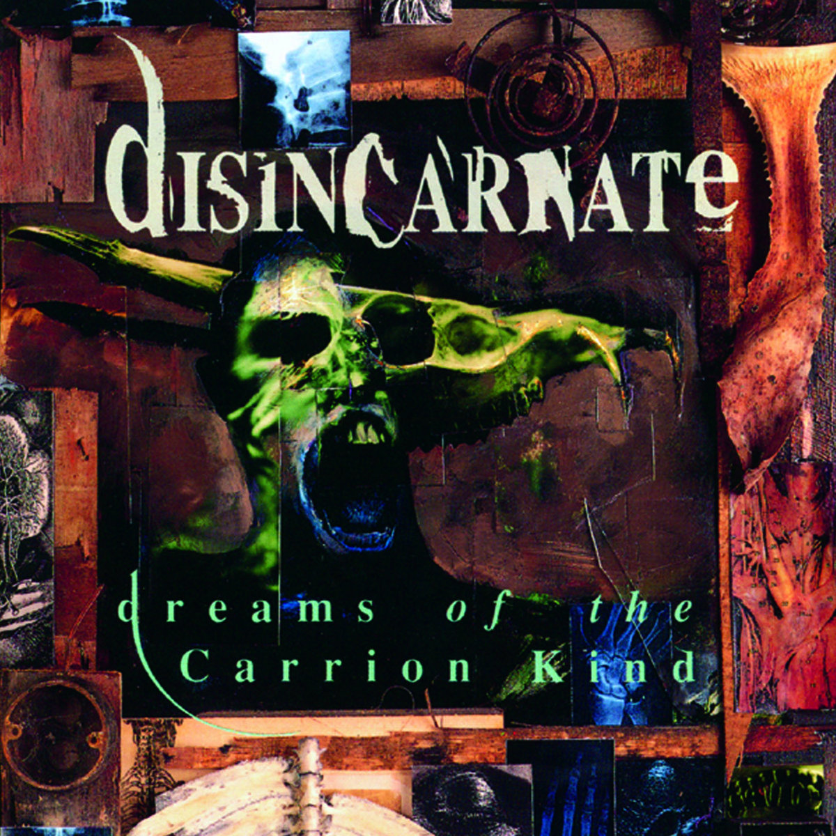 Dreams Of The Carrion Kind Disincarnate Listenable Records