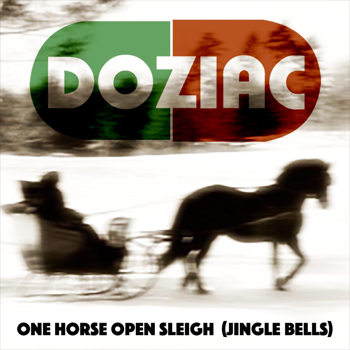 One Horse Open Sleigh Jingle Bells Doziac