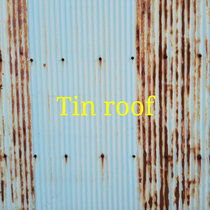 Tin roof cover art
