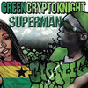 Greencryptoknight - Superman Cover Art