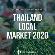 Local Farmers Market Ambience Thailand 2020 cover art