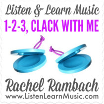 1-2-3, Clack With Me cover art