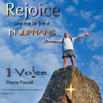 REJOICE - Songs From The Book of Philippians cover art
