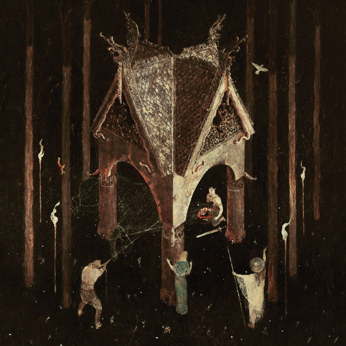 Image result for Wolves in the Throne Room - Thrice Woven