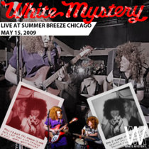 White Mystery LIVE at WHPK, Chicago, 2009 cover art