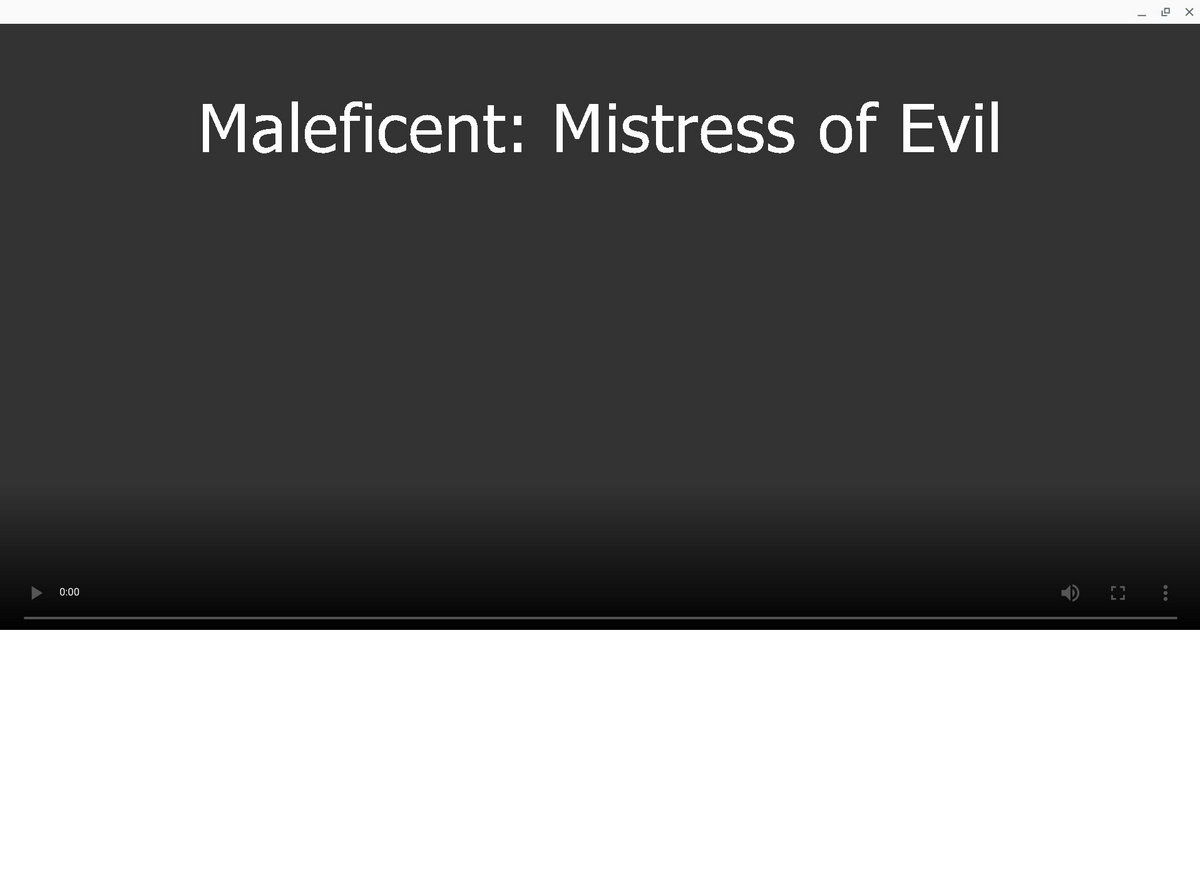 Link To Download 2019 Maleficent Mistress Of Evil Film In