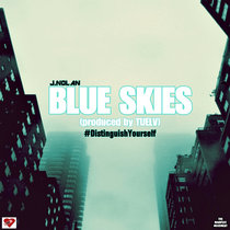 Blue Skies (produced by Tuelv) cover art