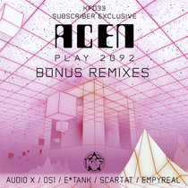 KFD33 - Play 2092 (Bonus Remixes) cover art