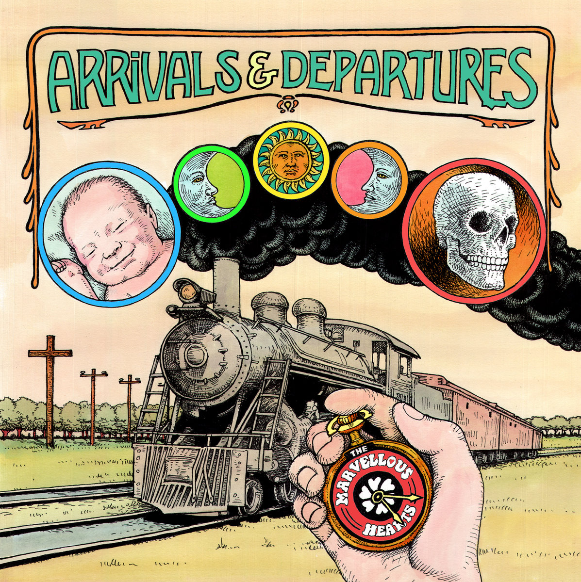 Arrivals & Departures by The Marvellous Hearts