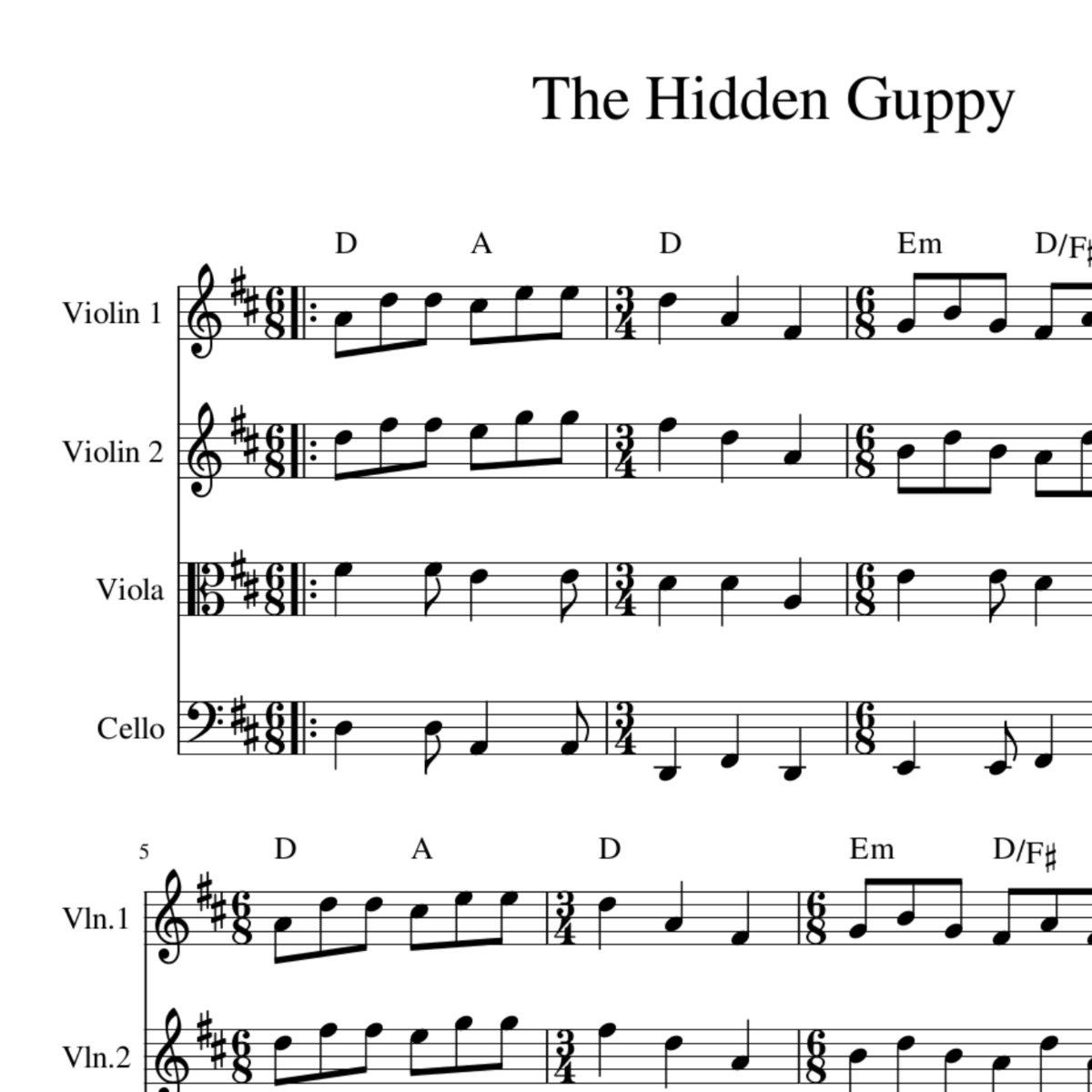 Music hidden pictures