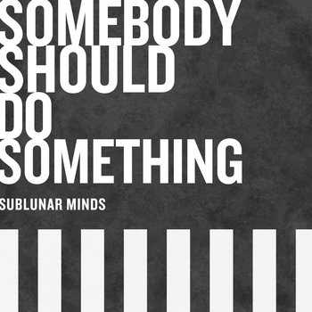 Somebody Should Do Something by Sublunar Minds