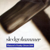 Peter Gabriel - Sledgehammer (Platurn's Funky Drum Edit) cover art