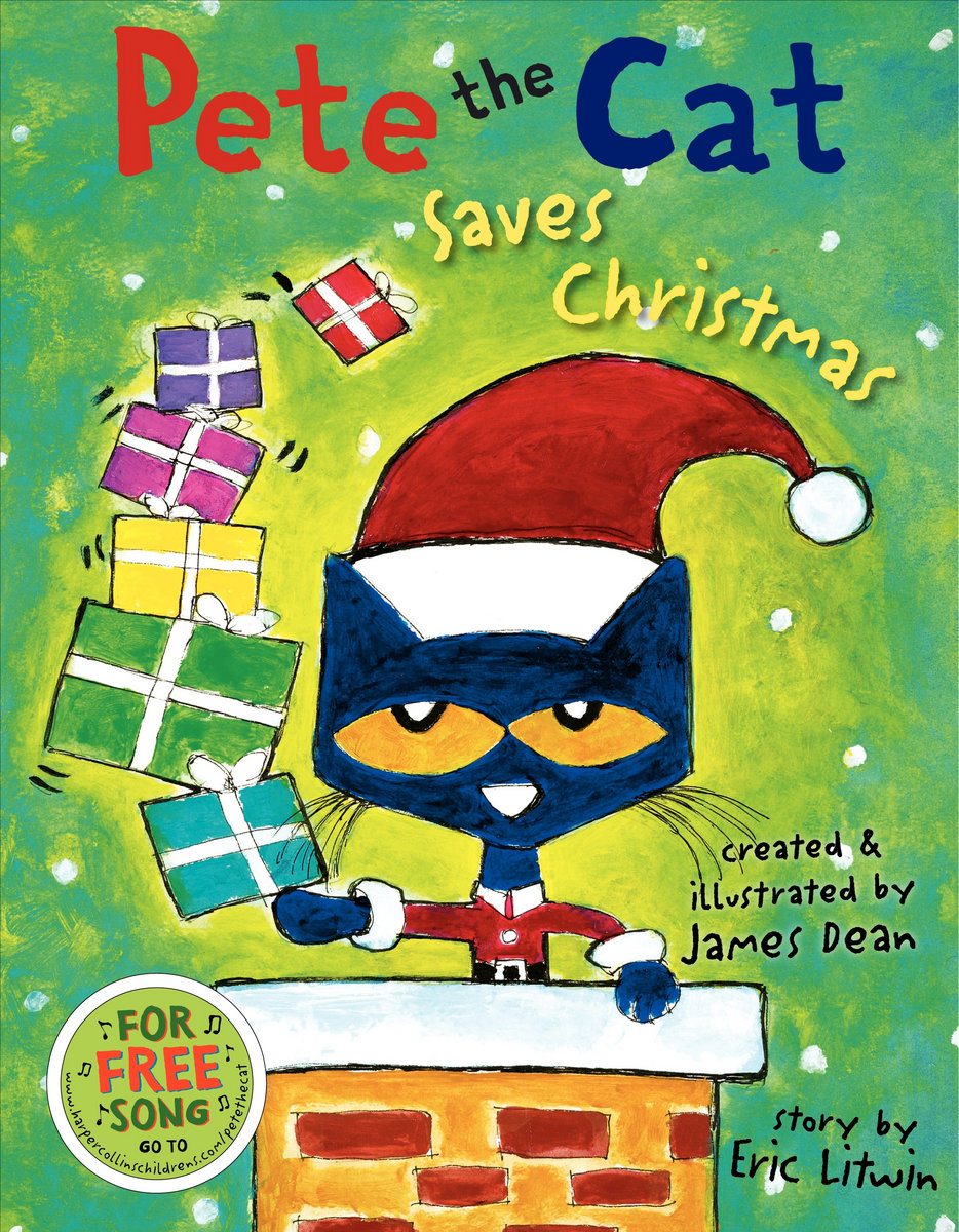 Pete The Cat Saves Christmas Story