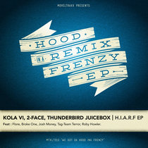 [MTXLT313] Hood In A Frenzy Remix EP cover art