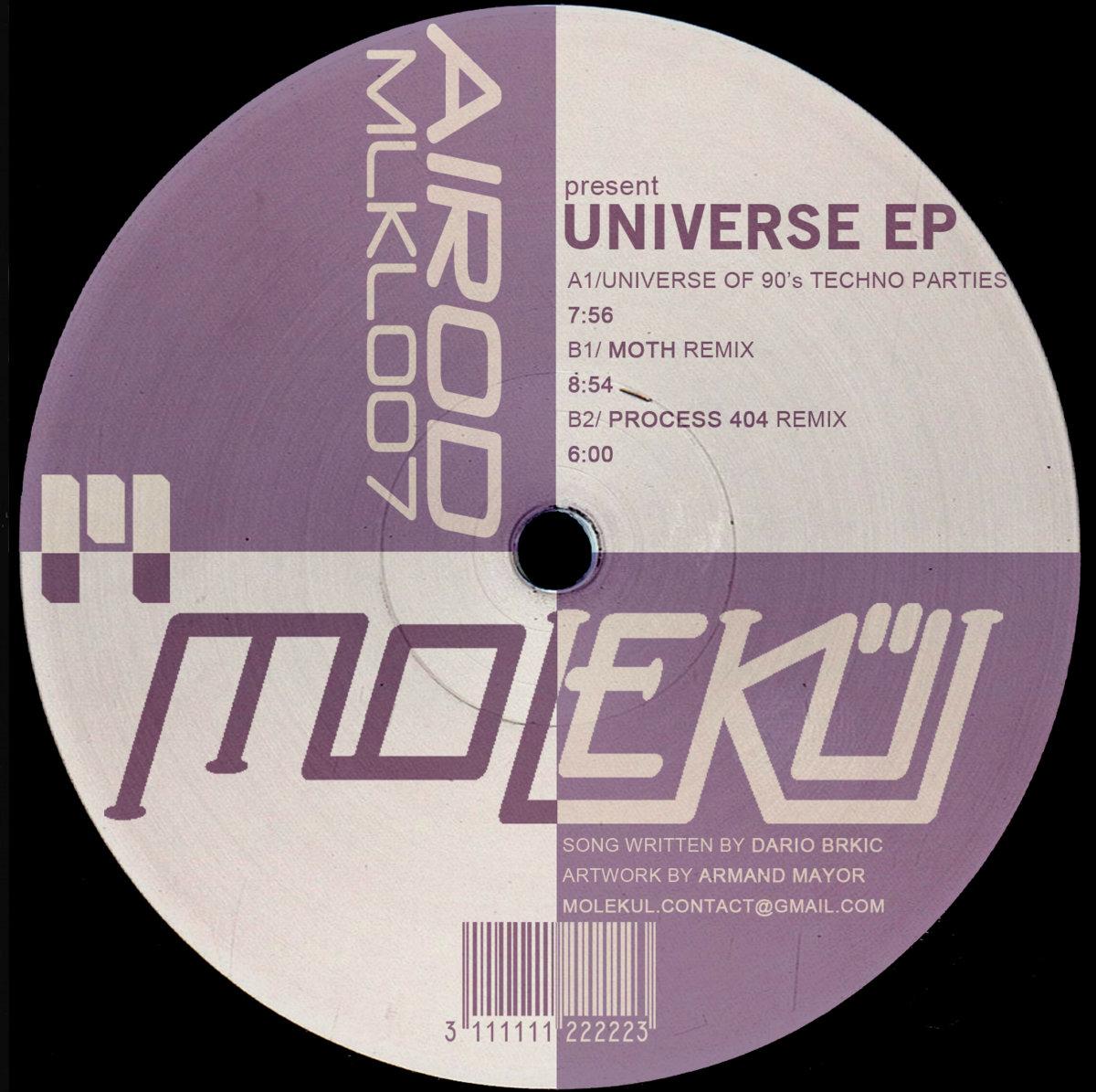 Universe EP [MLKL007]   Molekül