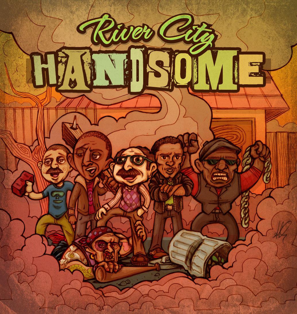 River City Handsome (prod by Lazerbeak)   Mega Ran
