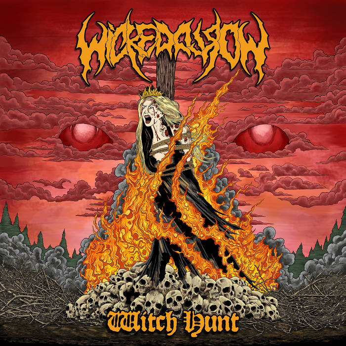 "Wicked World ""Witch Hunt"" cover art"