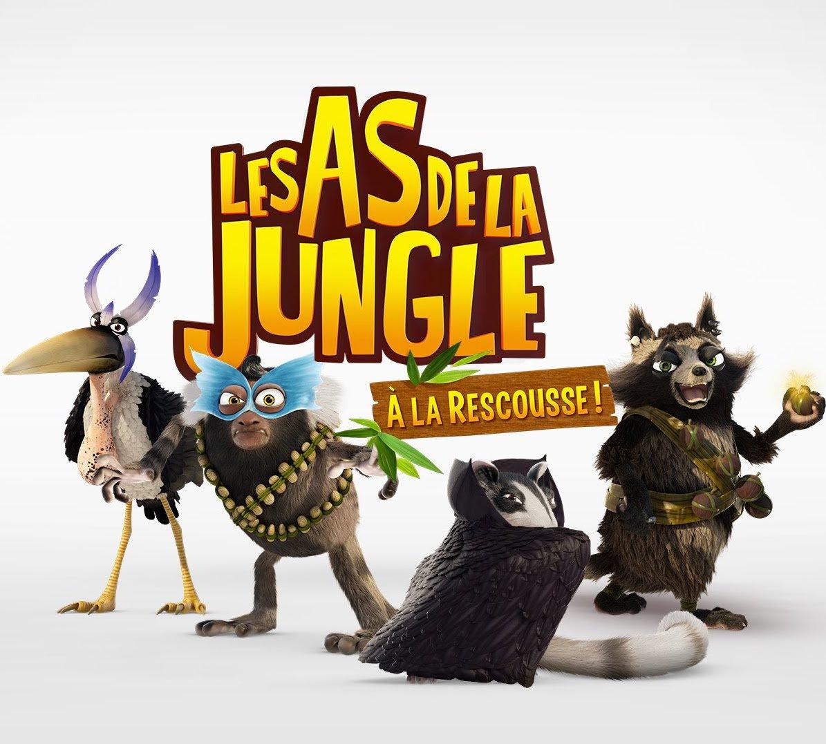 Les as de la jungle s rie musiques additionnelles olivier cussac - Jeux des as de la jungle ...