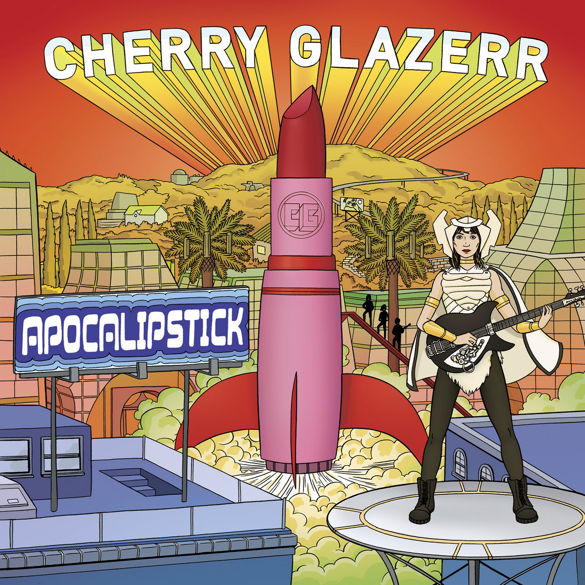 Image result for cherry glazerr apocalipstick