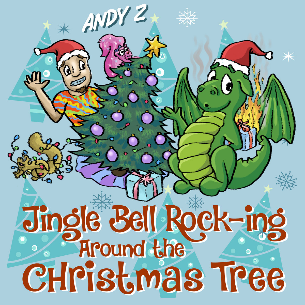 Jingle Bell Rock / Rockin' Around The Christmas Tree (Medley) by Andy Z