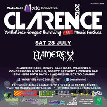 Live At Clarence 2012 cover art
