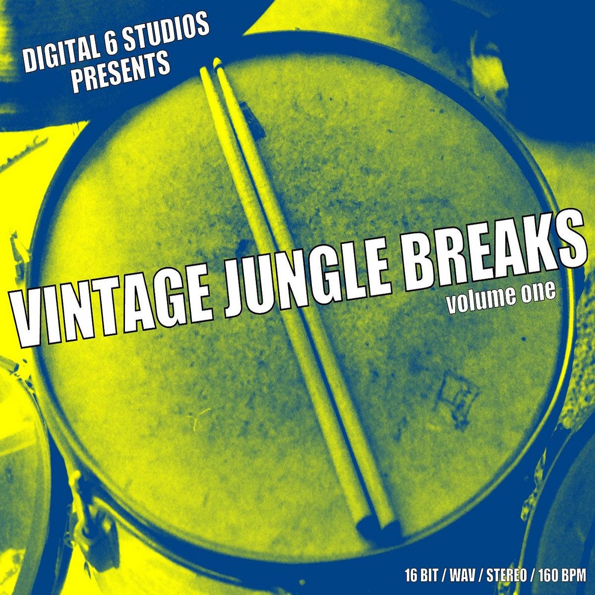 Vintage Jungle Breaks 1 | 6Blocc
