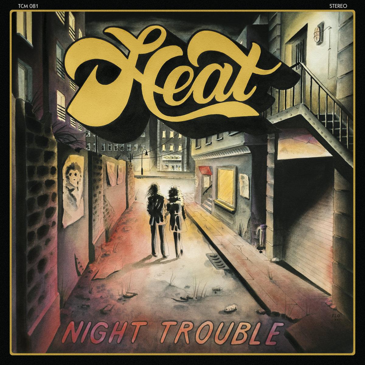 """Résultat de recherche d'images pour """"heat night trouble cd"""""""