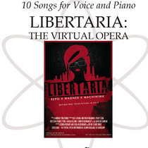 10 Songs for Voice and Piano Sheet Music: Libertaria Songbook cover art