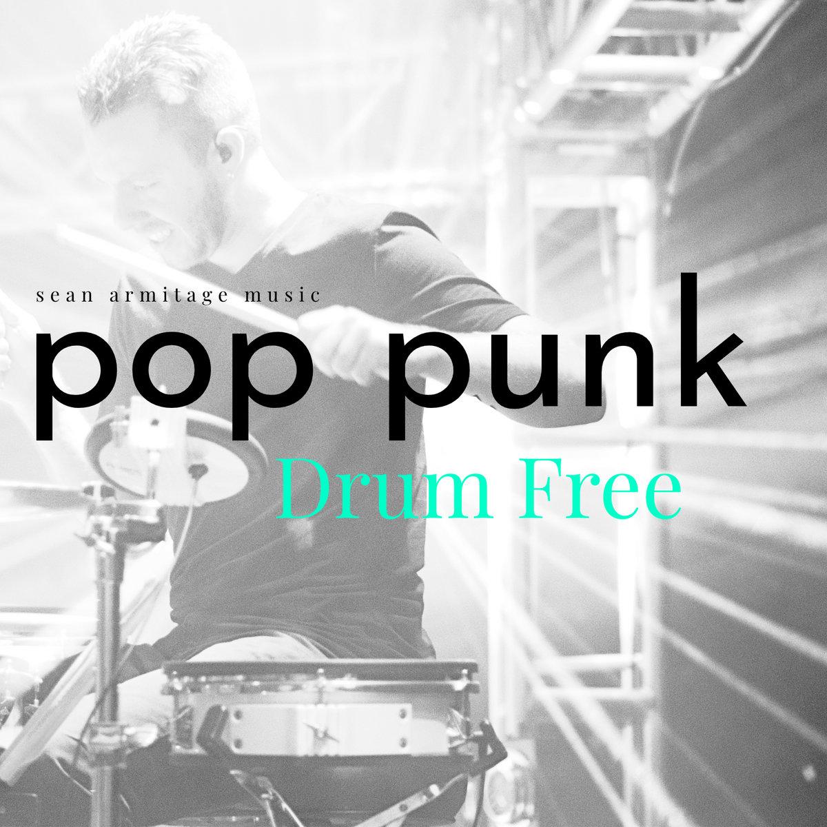 Drumless Backing Track Pop Punk (170 BPM) | Sean Armitage Music