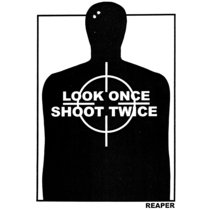 Look Once Shoot Twice cover art