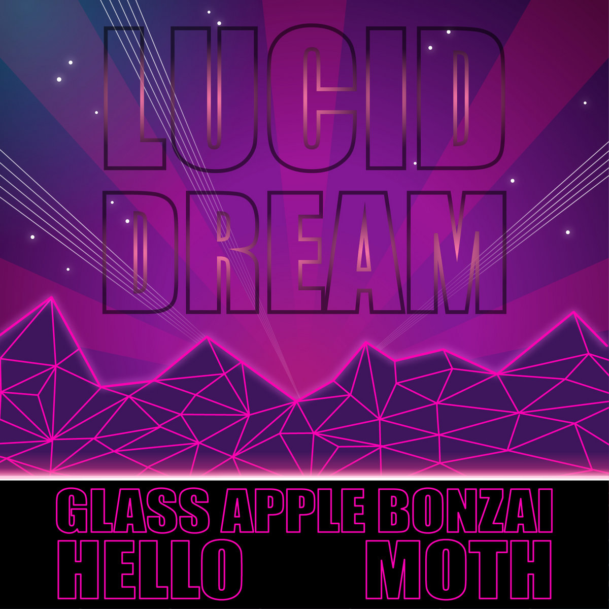 Lucid Dream | Glass Apple Bonzai