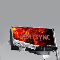 Heatsync cover art