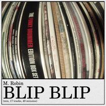 Blip blip (mix, 2015, 17 tracks, 49 minutes) cover art
