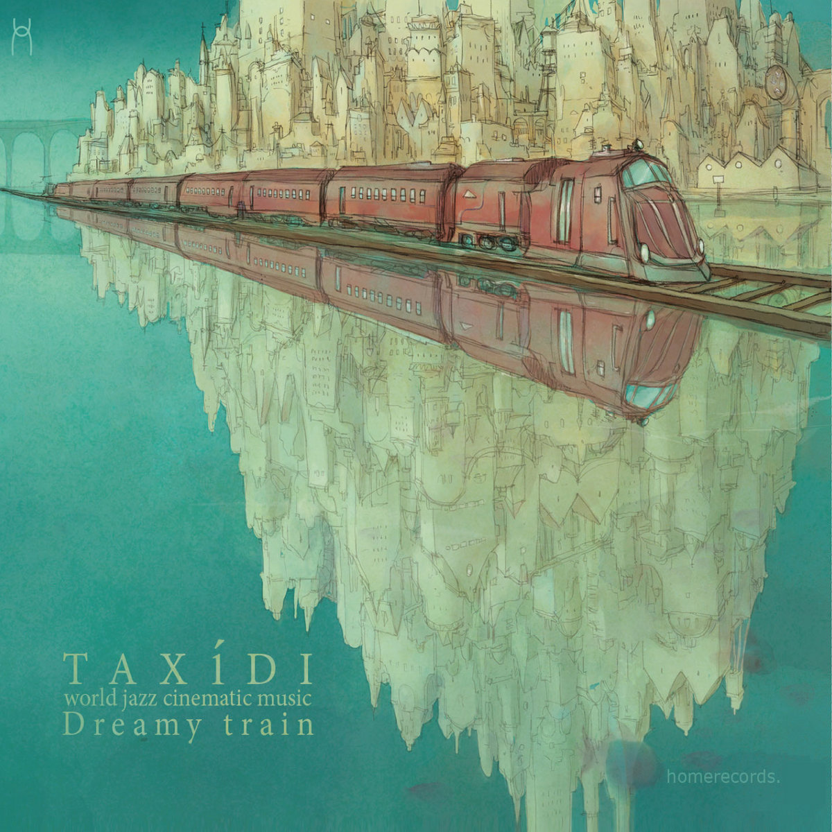 dreamy train | homerecords.be