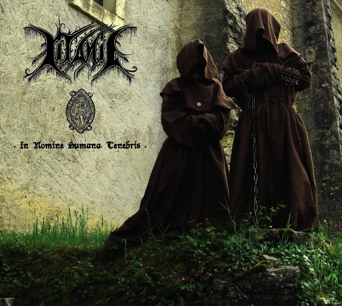 litanie in nomine humana tenebris black metal france le scribe du rock