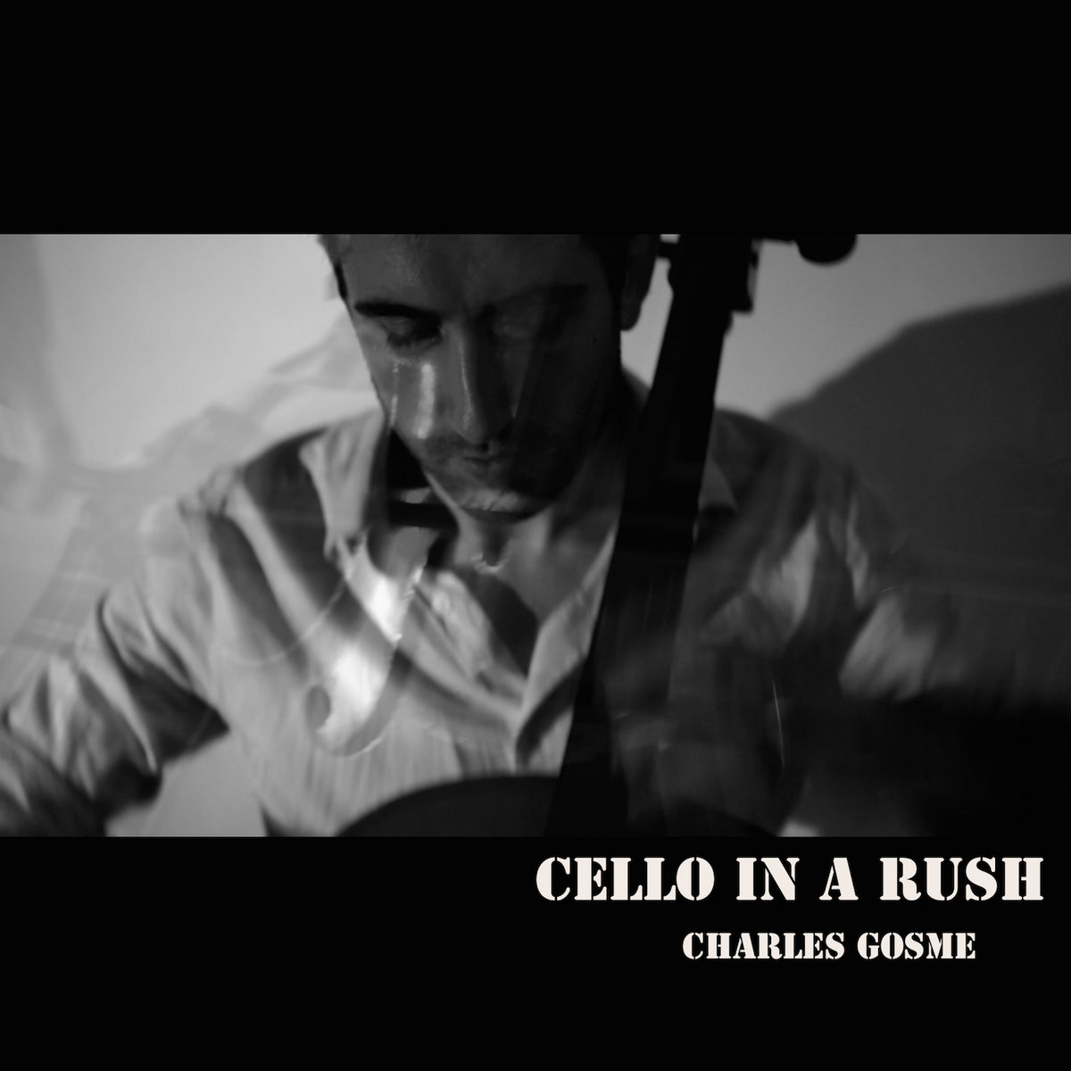 Cello in a Rush by Charles Gosme